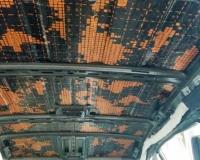 Укатываем правильную виброизоляцию на потолок
