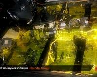 Шумоизоляция Hyundai Coupe