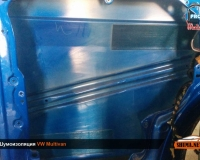 Шумоизоляция VW Multivan