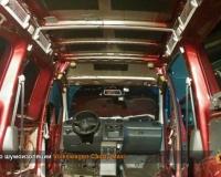 Разобраный салон Volkswagen Caddy Maxi
